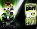 Ben 10 Ultimate Alien 3D ATV oyunu