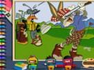 Bugs Bunny Boyama  oyunu