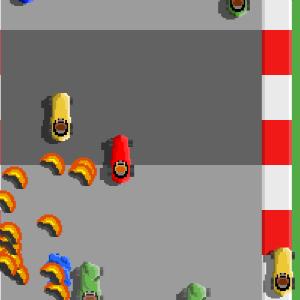 Lego Araba Yarışları