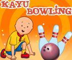Caillou Bowling Oyunu