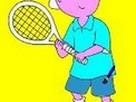 Caillou Kayu Tenis