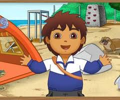 Diego ile Hayvan Kurtar oyunu