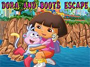 Dora Kaçış oyunu