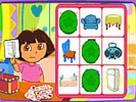 Dora Bingo Kartları oyunu
