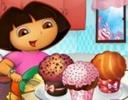 Dora Cupcakes  oyunu