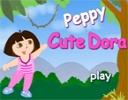 Dora Giysi Giydirmece oyunu