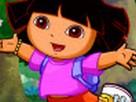 Dora ile Boyama oyunu