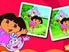 Dora ile Kart Eşleştir oyunu