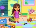 Dora Parti Temizliği oyunu