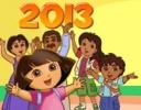 Dora ve Ailesi Noel oyunu