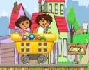 Dora ve Diego Tehlikeli Şehir oyunu