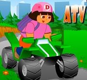 Dora Yeşil Atv oyunu