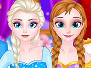Elsa ve Anna oyunu