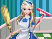 Elsa Ev Temizliği oyunu