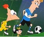Phineas ve Ferb Futbol oyunu