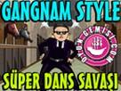 Ünlülerle Gangnam Style oyunu