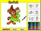 Garfield- Boyamaca Oyunu  oyunu