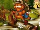 Garfield - Hamburger Topla Oyunu oyunu