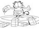 Garfield Boyama Oyunu Oyna oyunu