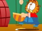 Garfield  Yumurta Topla Oyunu  oyunu