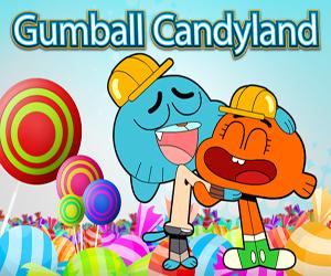 Gumball Candyland oyunu