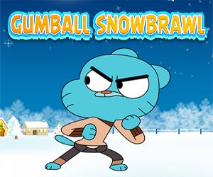 Gumball Snowbrawl oyunu