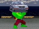 Hulk Araba Parçalama oyunu