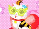 Şirin Kediyi Giydir oyunu