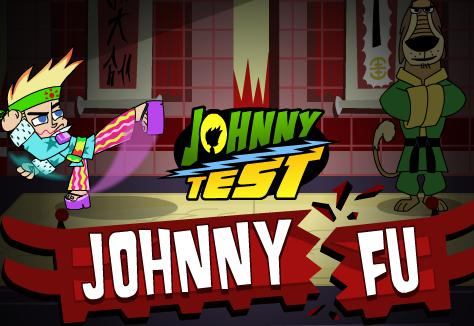 Johnny Test karate oyunu