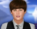 Justin Bieber 3D Makyaj Oyunu