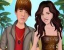 Justin ve Selena Giydirme oyunu