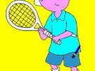 Kayu Caillou tenis oyunu