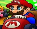Mario 3D Araba Yarışı oyunu