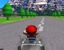 Mario 3D Go Kart oyunu