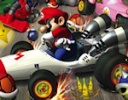 Mario ile Araba Yarışı oyunu