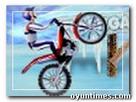 Motorsiklet buzda oyunu