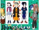 Naruto ve Arkadaşlarını giydir  oyunu