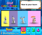 Olaf Hafıza Renkleri