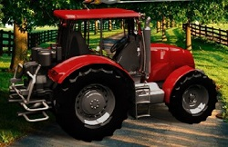 4 Çarpı 4 Çifttçi Traktörü