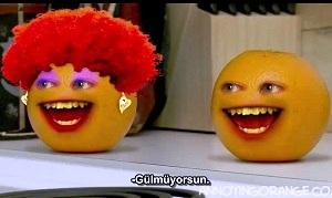 Gıcık Portakal Anneler Günü oyunu