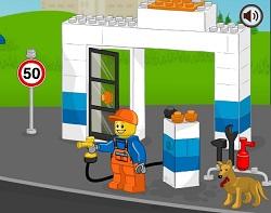 Lego Petrol İstasyonu oyunu