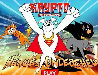 Süper Köpek Krypto Oyunları oyunu