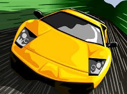Süper Araba Yarışı oyunu