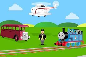 Thomas ve Arkadaşları Oyunu Oyna oyunu