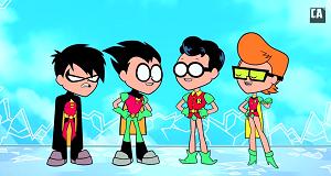 Teen Titans Go Aranıyor oyunu