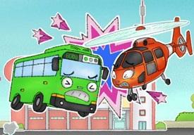 Küçük Otobüs Tayo Yapboz oyunu