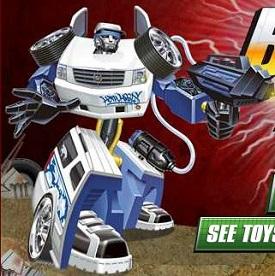 Transformers Rescue Bots Sonsuz Saldırı oyunu