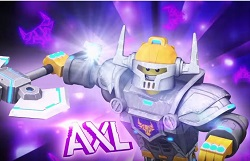 Lego Nexo Knights Axl oyunu