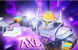 Lego Nexo Knights Axl