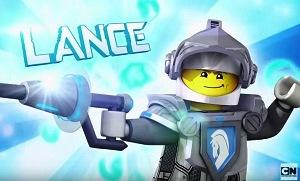 Lego Nexo Knights Lance oyunu